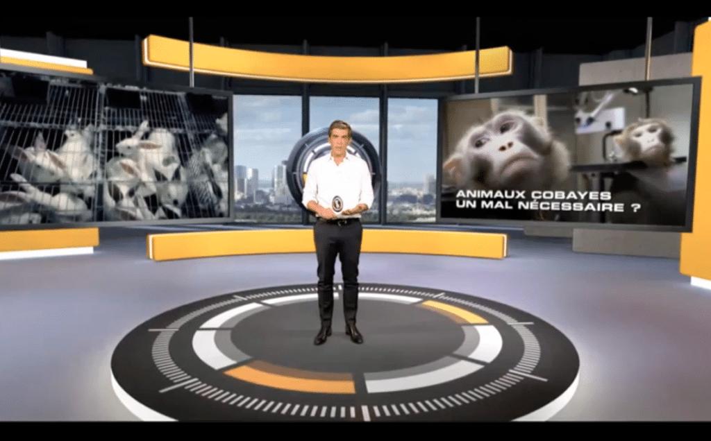Reportage 66 minutes sur l'expérimentation animale