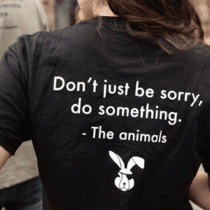 tshirt animal testing